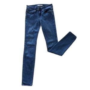 Joie Mid Rise Skinny Jeans Size 25 Stretch